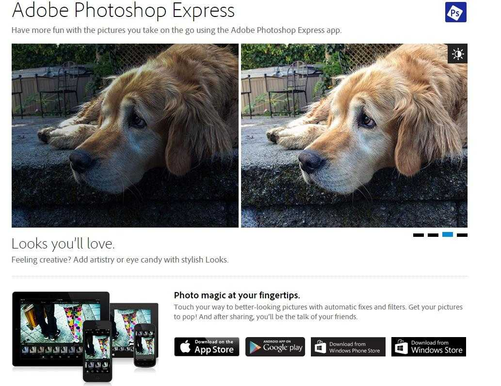 Photoshop Express Overview