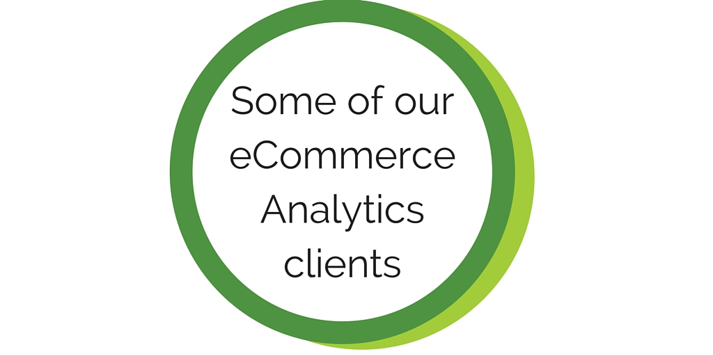 eCommerce Analytics Consulting
