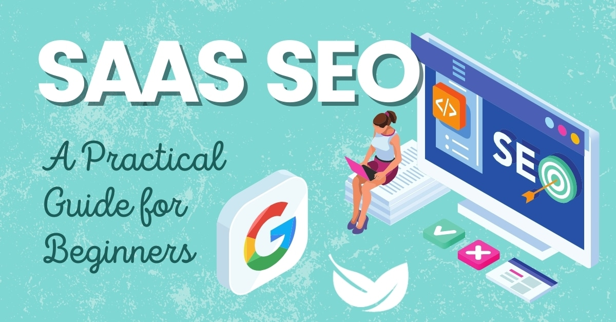 saas seo practical guide graphic